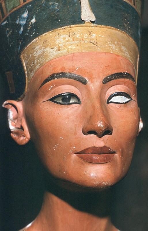 Gesicht der Nofretete, Det. aus 32 546