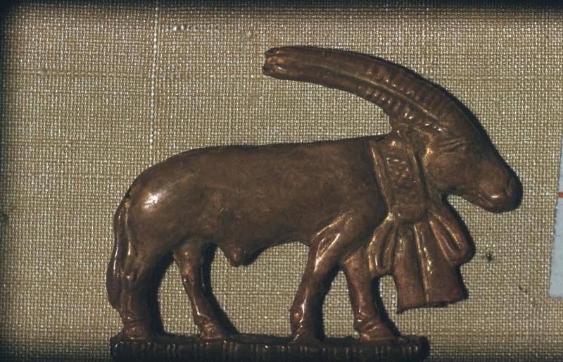 Steinbock, Br. ca. 7 cm, 1. Dyn.