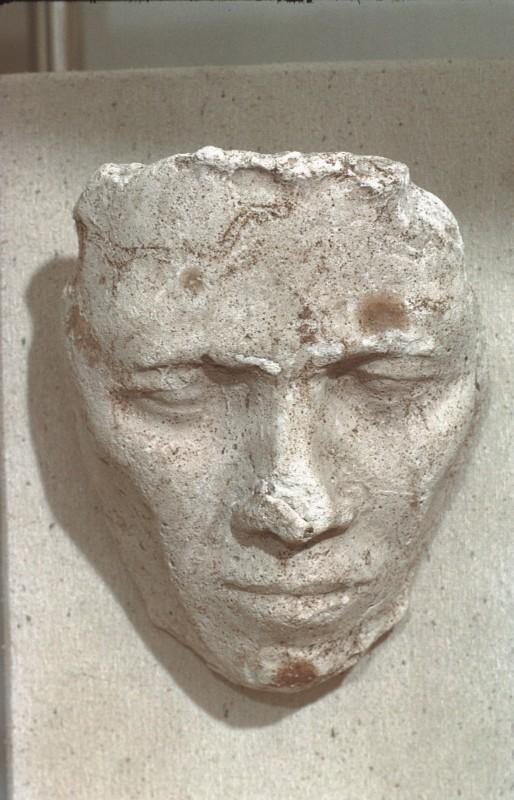Bildnisstudie aus der Werkstatt des Thutmose, Stuck, H. 18 cm
