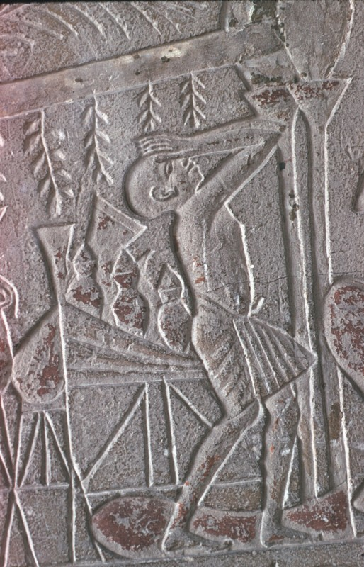 Trauernder, Detail aus 32 588