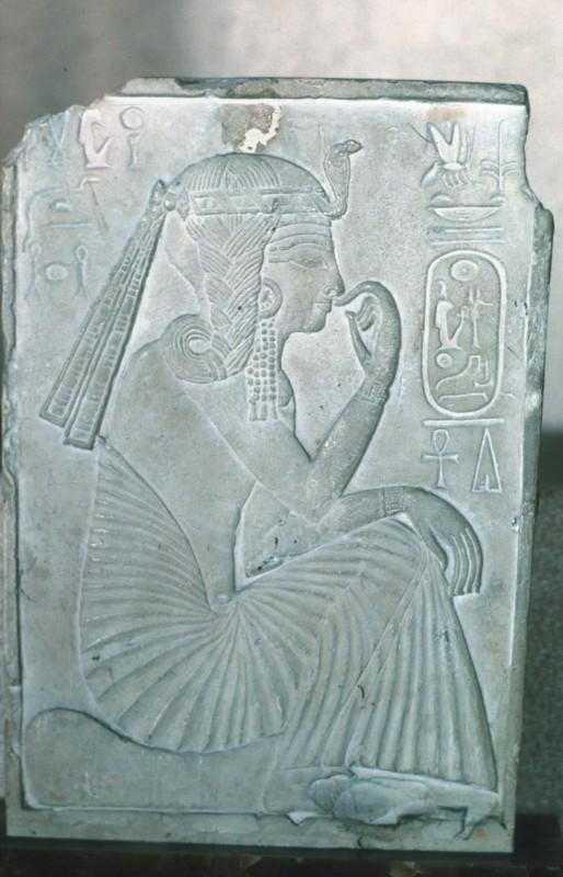Relief des jugendlichen Ramses II., Kalkstein aus Sakkara