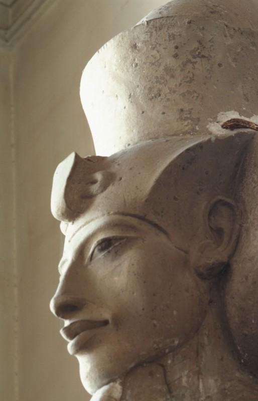 Kopf des Echnaton, Det. aus 32 501